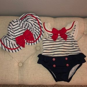 Pin-up baby swimsuit